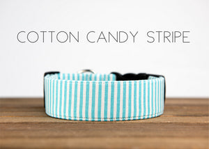 PUDDLE JUMPER COLLECTION BLUE & WHITE STRIPE COTTON CANDY