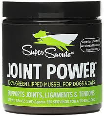 Diggin' Your Dog Super Snouts Joint Powder NZ Green Lipped Mussel 150gm