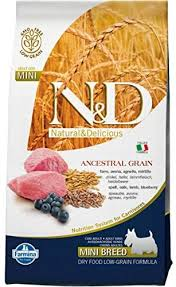 Farmina Dog Dry ANCESTRAL GRAIN Lamb & Blueberry Mini 5.5#