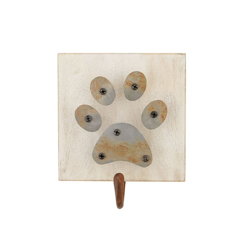 Mud Pie Paw Iron Dog Leash Hanger
