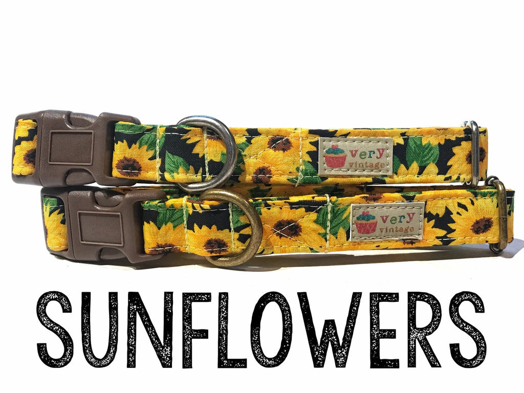 VERY VINTAGE ORGANIC COTTON ANTIC SILVER SUNFLOWERS COLLECTION