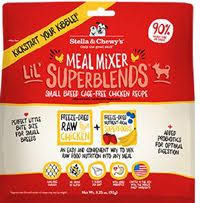 STELLA & CHEWY'S MEAL MIXERS FD SUPERBLENDS CHICKEN 3.25 OZ