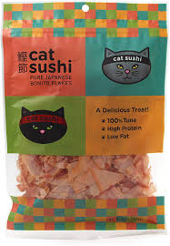 CAT SUSHI CLASSIC CUT BONITO FLAKES .7 oz