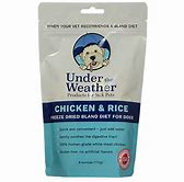 Under The Weather Chick & Rice 6 oz