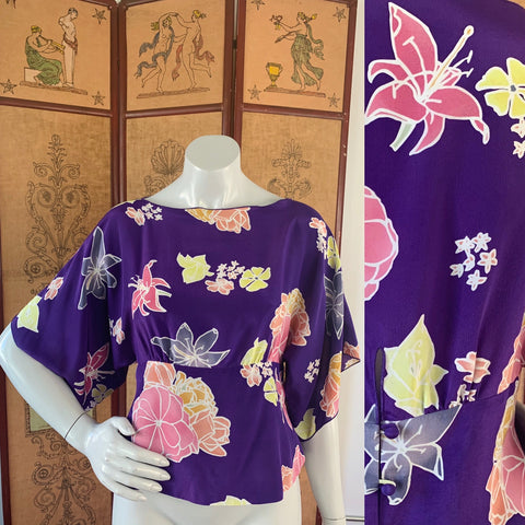 Anna Sui designer silk blouse available now at Empress Studio SF!  Email us to set up an appointment to shop in store.