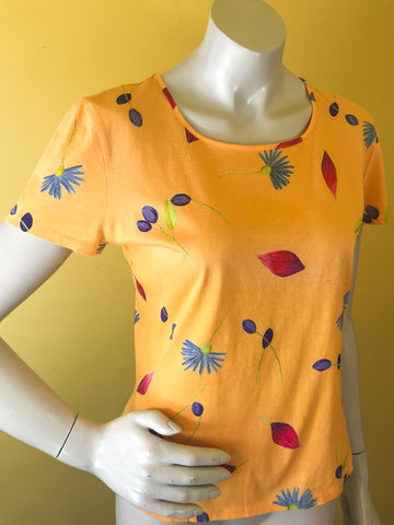 Kenzo floral t-shirt. Sold in excellent condition at Empress Vintage in Berkeley, CA.