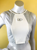 Starter label crop top. Vintage street wear. Sold exclusively at Empress Vintage in Berkeley, CA.