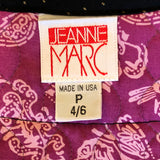 Jeanne Marc Cropped Quilted Genie Vest