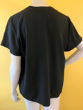 Yves Saint Laurent Black Button Up Blouse