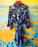 Silk Magical Print Robe