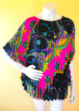 Psychedelic Mini Caftan from Empress Vintage in Berkeley, CA!