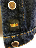 Todd Oldham Cropped Denim Jacket