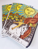 The Sun Tarot Bag for all tarot readers and admirers. Sold exclusively at Empress Vintage in Berkeley, CA.