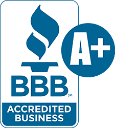 A Plus rated on Better Business Bureau (BBB)