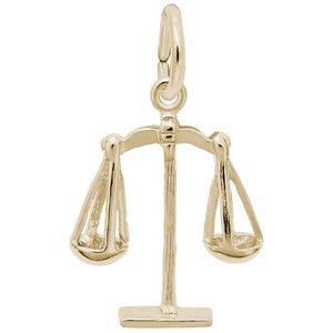 SCALES OF JUSTICE(14KT) - Frank's & Sons Jewelry