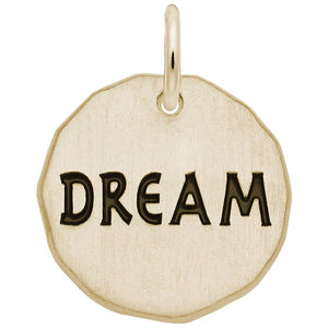 DREAM CHARM TAG(14KT) - Frank's & Sons Jewelry