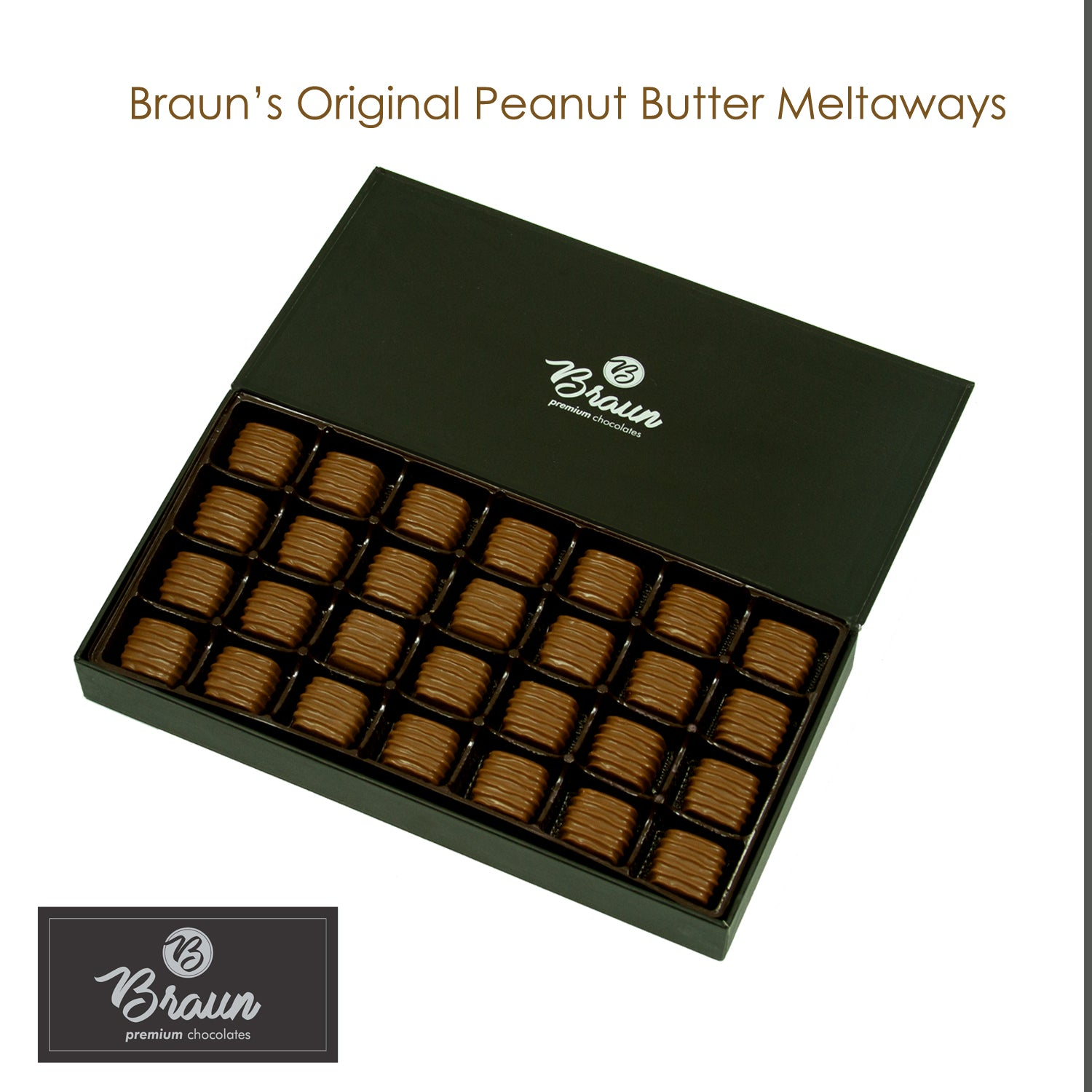 Braun's Peanut Butter Meltaways