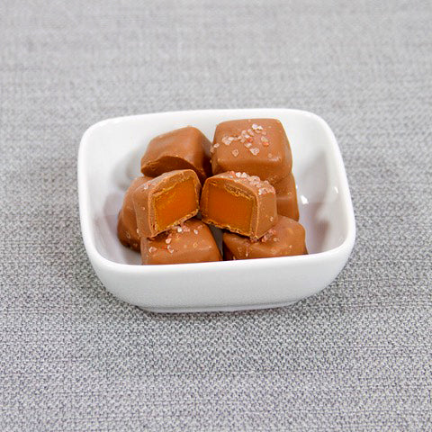 Milk Chocolate Salted Caramels