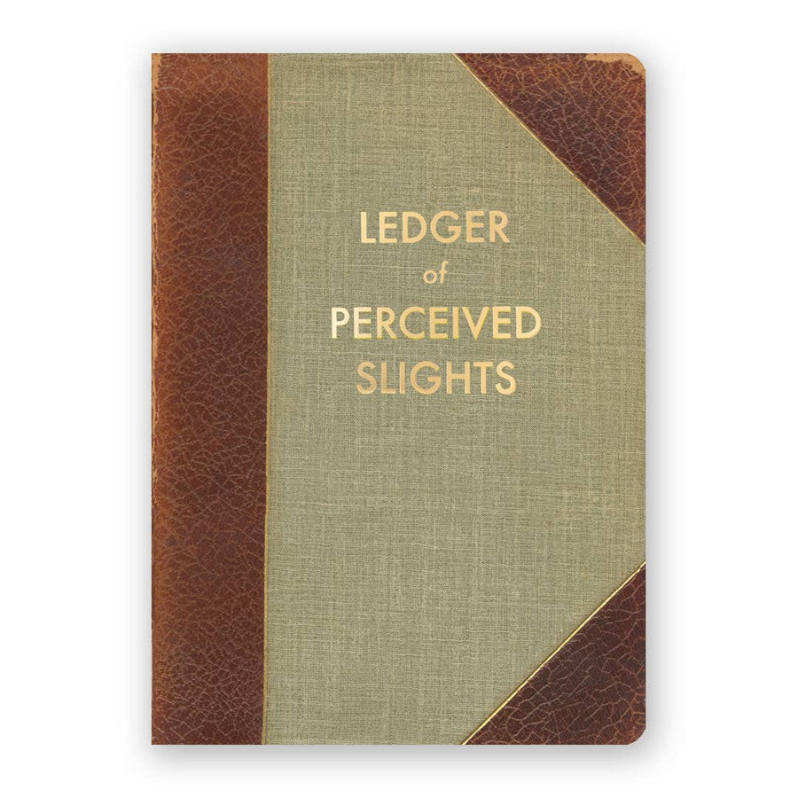 Ledger of Perceived Slights Journal - Medium