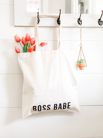 Boss Babe - Market Tote Bag