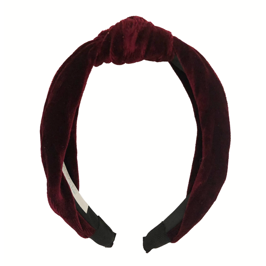 Maroon City Girl Headband