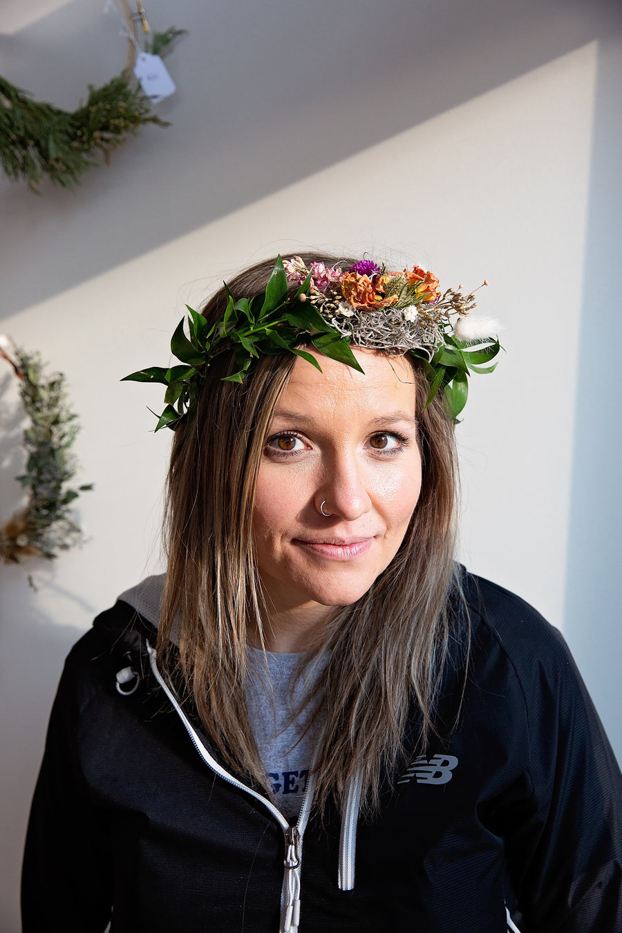 DIY Dried Flower Crown Kit Delivery