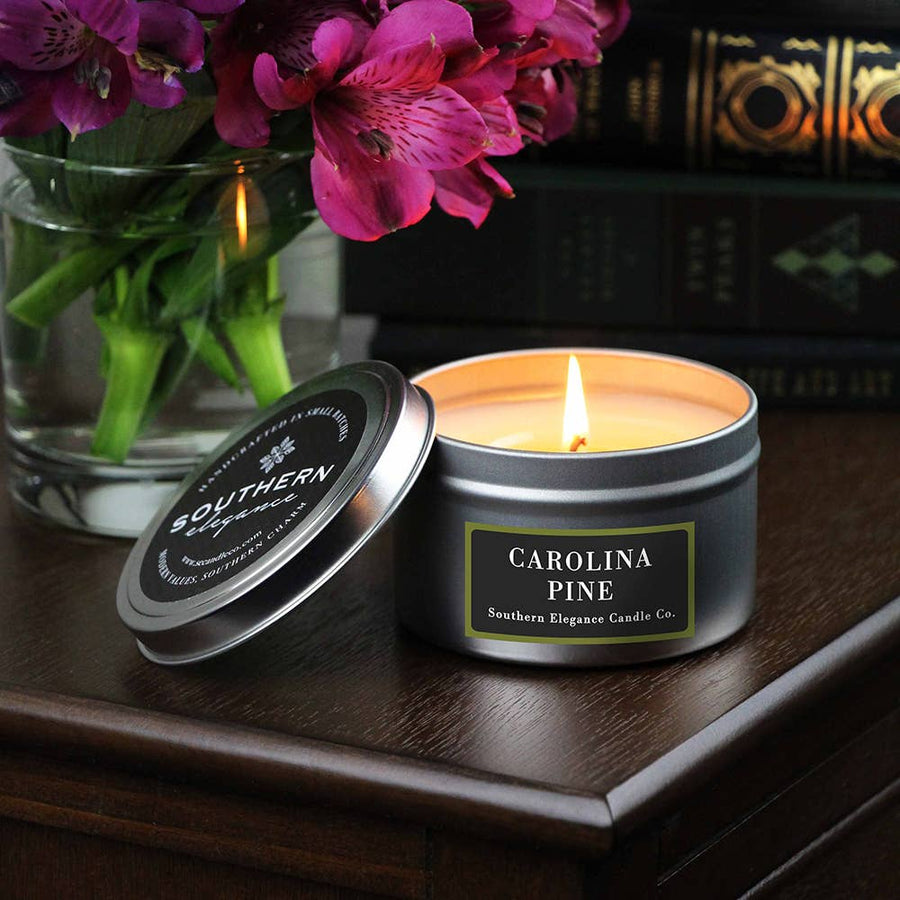Signature Scents: 6.5 oz Black Travel Tin (Year-Round)