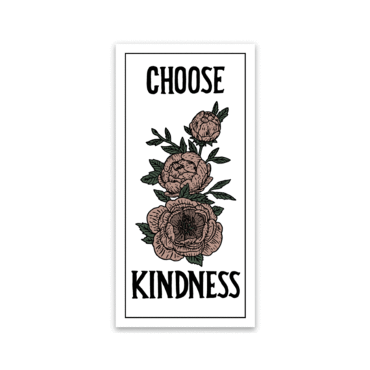 Choose Kindness Box Sticker