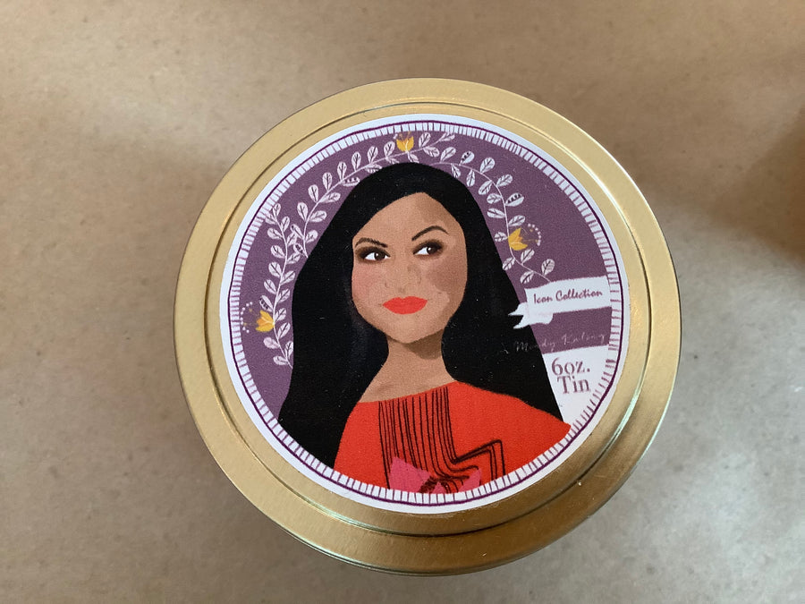 Icon Collection Tin Candles-Mindy Kaling