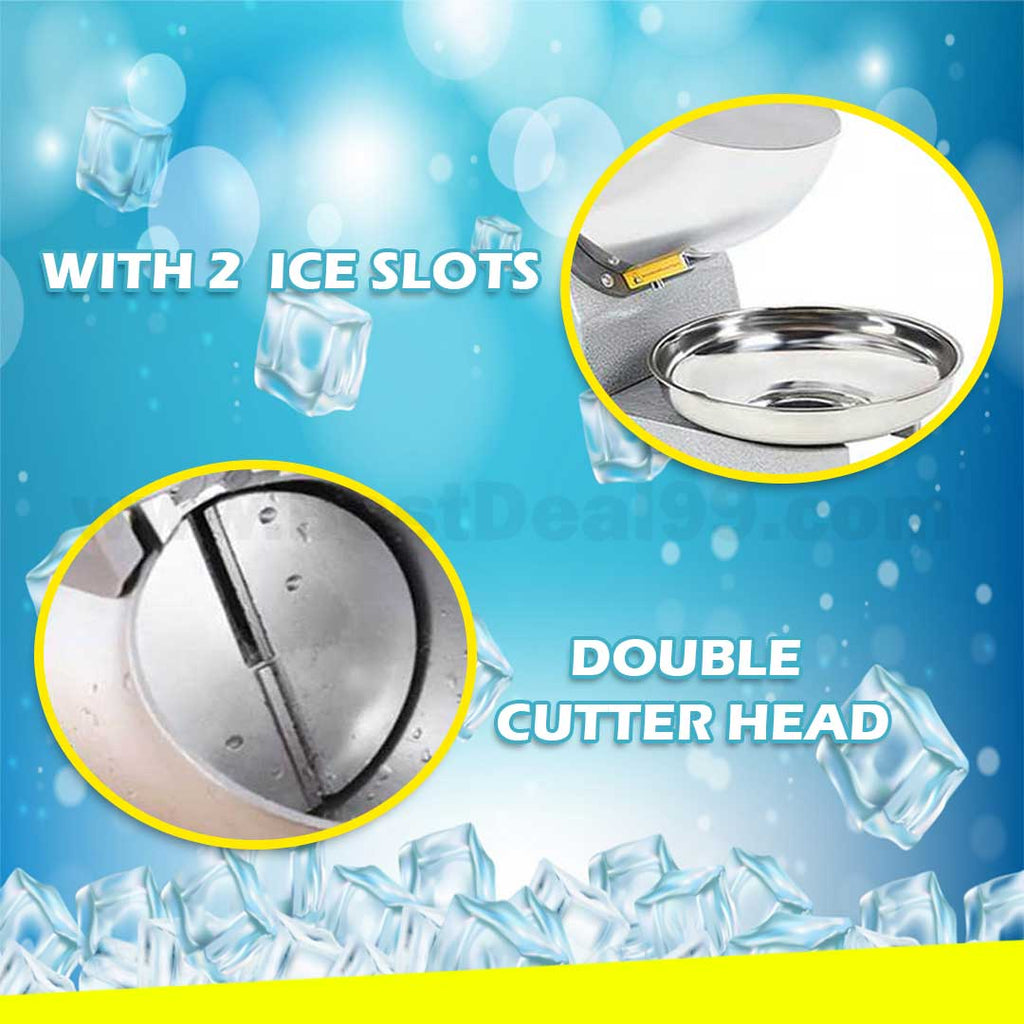 HEAVY DUTY ELECTRIC ICE CRUSHER