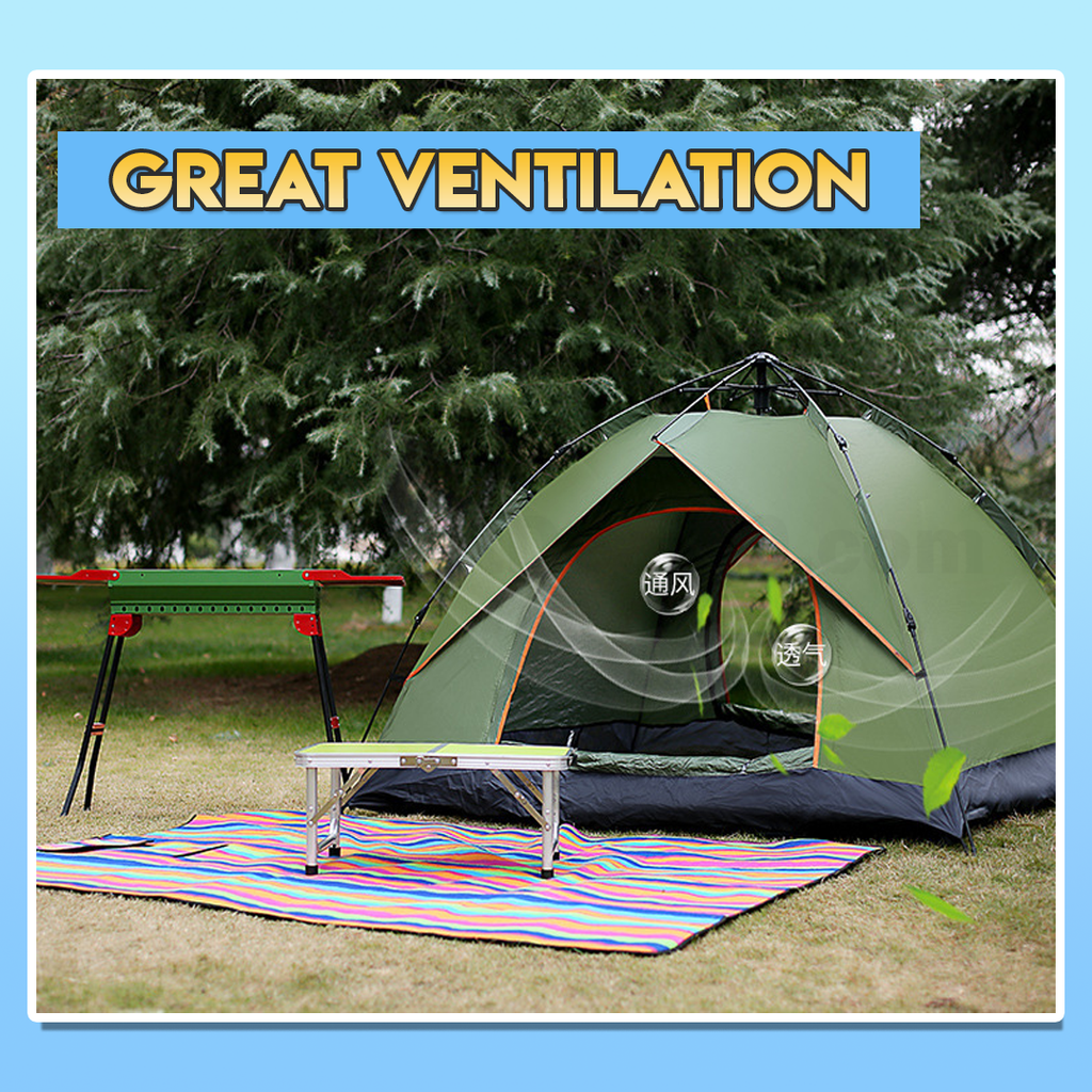 camping automatic tent