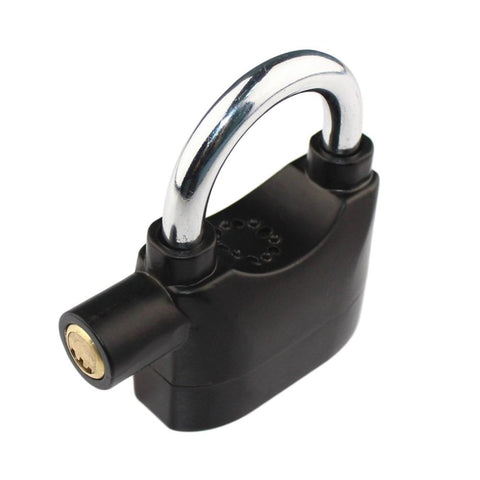 INTELLIGENT ANTI THEFT ALARM PADLOCK