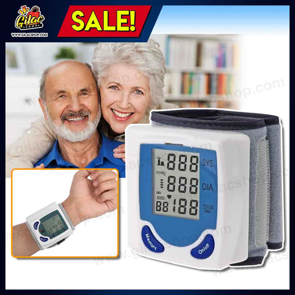 New Automatic Wrist Watch BP Monitor