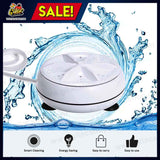 Portable Ultrasonic Mini Washing Machine