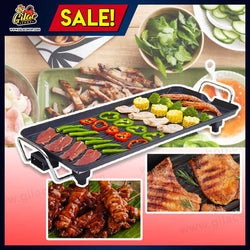All in One Electric Korean Barbecue Grill (Non-Stick and Smokeless)