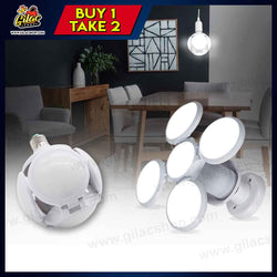 LED Folding UFO Light Bulb (BUY 1 TAKE 2)
