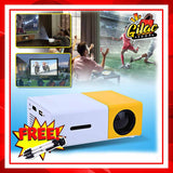 Portable Pocket Projector (with FREE TRIPOD)