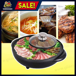 Korean 2-in-1 Hot Pot and Grill