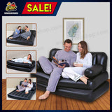 Portable 5 in 1 Sofa Bed + FREE Air Pump