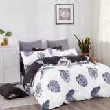 3 in 1 Korean Style Double Size Cotton Bedsheet Set