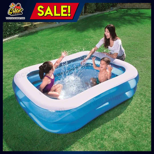 Inflatable Home Pool (2.01m x 1.50m x 51cm / 6'7