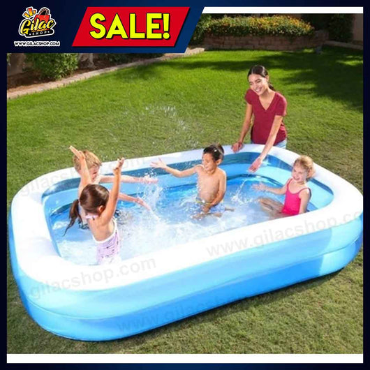 Inflatable Home Pool (2.62m x 1.75m x 51cm / 8.6 x 69