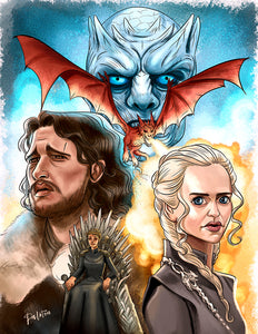 Game of Thrones A2 Poster