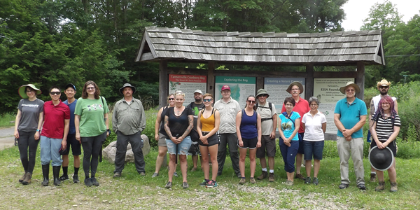 MACPS Tannersville Bog group photo