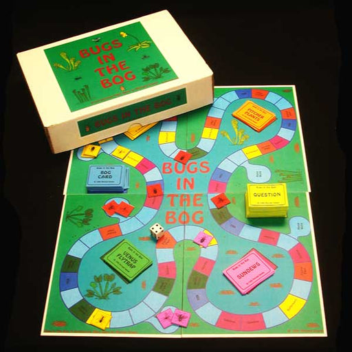 Bugs in the Bog Board Game
