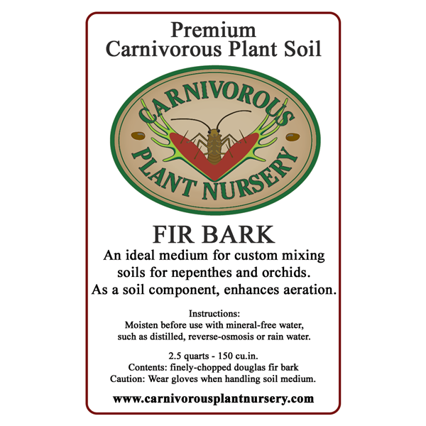 CP Soil Component Label Fir Bark