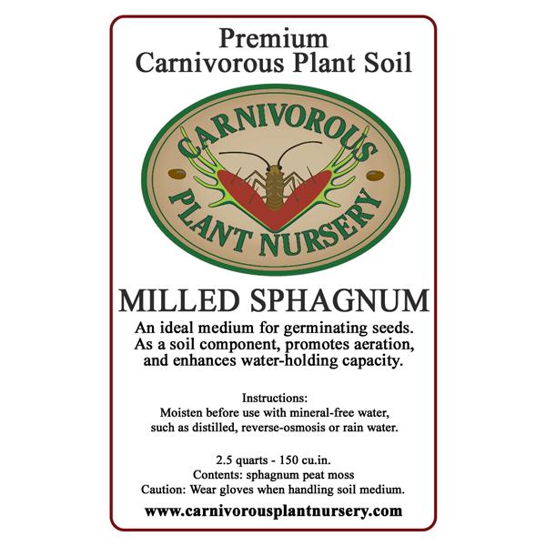 Soil Components - Milled Sphagnum