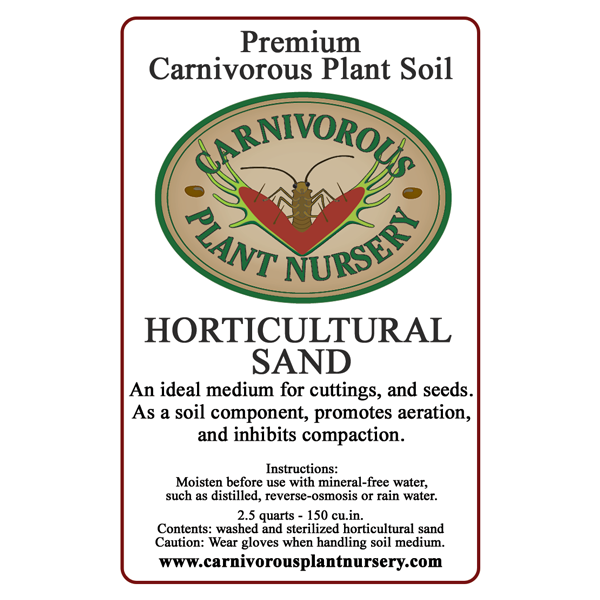 CP Soil Component Label Horticultural Sand