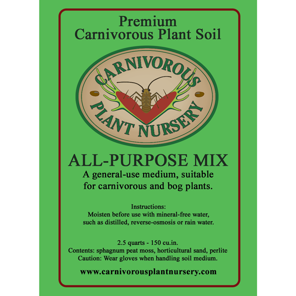 Premium All Purpose Carnivorous Plant Soil Mix