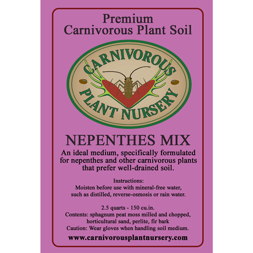 CP Soil Label Nepenthes Mix